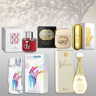 Regala o Regalate Perfumes Importados para Hombre y Mujer. Una gran variedad de marcas casi todos de 100 ml Envíos a todo el país.
