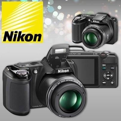 OFERTA Exclusiva: Camara NIKON L 320, Video HD 720p ¡Increíble! Pagala en Cuotas. Envios a todo el pais.