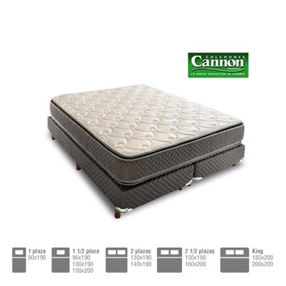 bded9f2651c Línea Premium  Colchón y sommier Cannon en espuma de alta densidad modelo  Exclusive. Varias medidas. Envíos a todo el país.
