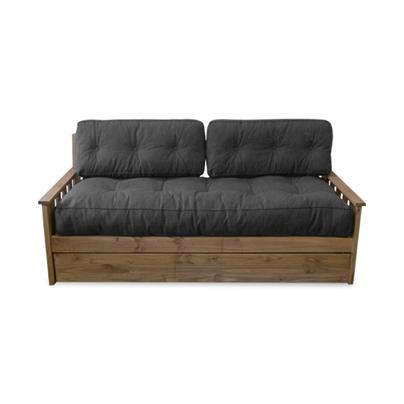Ahorr espacio divan cama con carro y colch n de for Divan cama con cajones 1 plaza